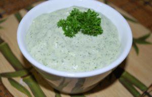 Рецепт чесночного соуса