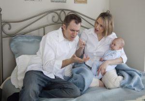 Муж охладел после рождения ребенка