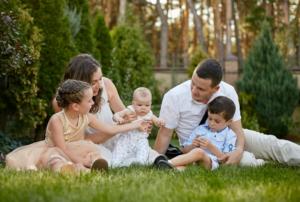 выйти замуж с тремя детьми