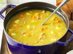 Как быстро приготовить гороховый суп