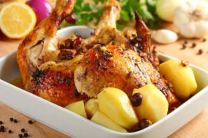 Курица с орехами