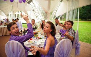 Конкурсы на маленькую свадьбу