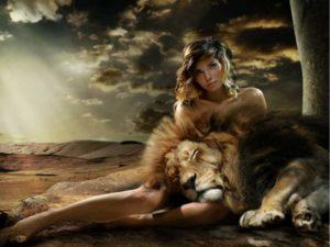 Мужчина лев в отношениях с женщиной