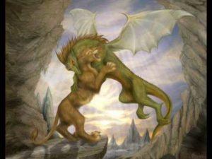 Лев дракон мужчина
