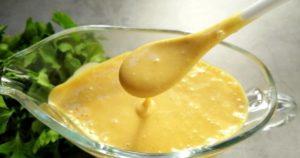 Медово горчичный соус