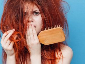 уход за сухими волосами