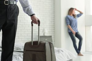 Если муж ушел из дома