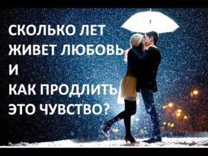 как долго живет любовь