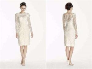второй раз замуж платье