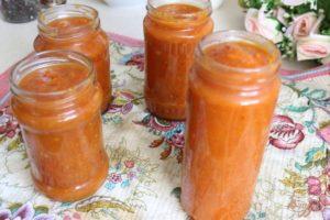 Соус из абрикосов на зиму