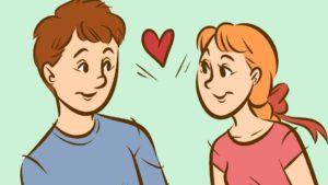 Как определить нравишься ли ты парню