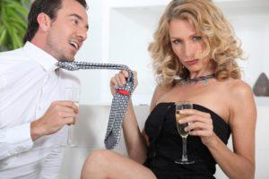 Если мужчина дразнит женщину