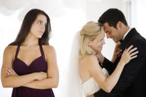Женатый мужчина и замужняя женщина