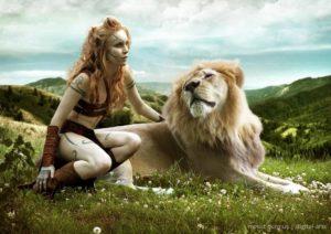 Женщина для мужчины льва