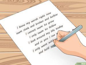 Извинения перед девушкой в письме