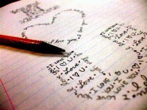 Как красиво написать я тебя люблю