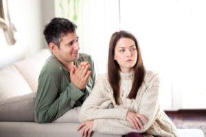 Если мужчина нервничает перед женщиной
