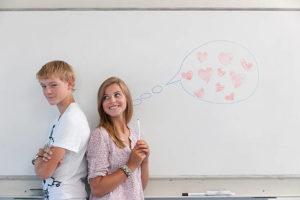 Как понравится однокласснице