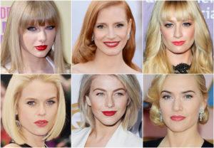 какой цвет помады подходит блондинкам
