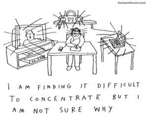 Не могу сосредоточиться