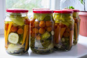 Универсальное маринование овощей