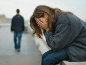 Депрессия после расставания с парнем