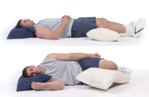 Как правильно спать мужчине