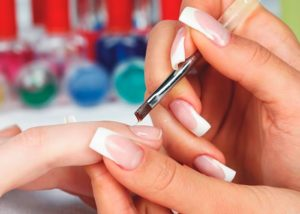 как наращивать ногти гелем