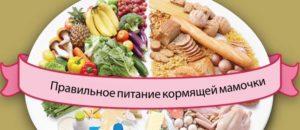 питание во время кормления грудью