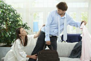 Если муж уходит из семьи